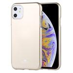 Чехол Mercury Goospery Jelly Case для Apple iPhone 11 (золотистый, гелевый)