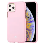 Чехол Mercury Goospery Jelly Case для Apple iPhone 11 pro max (розовый, гелевый)