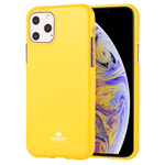Чехол Mercury Goospery Jelly Case для Apple iPhone 11 pro max (желтый, гелевый)
