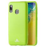 Чехол Mercury Goospery Jelly Case для Samsung Galaxy A30 (зеленый, гелевый)