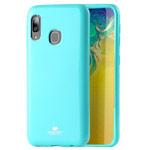 Чехол Mercury Goospery Jelly Case для Samsung Galaxy A30 (бирюзовый, гелевый)