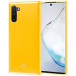 Чехол Mercury Goospery Jelly Case для Samsung Galaxy Note 10 (желтый, гелевый)