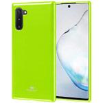 Чехол Mercury Goospery Jelly Case для Samsung Galaxy Note 10 (зеленый, гелевый)