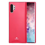 Чехол Mercury Goospery Jelly Case для Samsung Galaxy Note 10 plus (малиновый, гелевый)