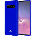 Чехол Mercury Goospery Jelly Case для Samsung Galaxy S10 (синий, гелевый)