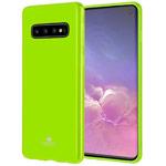 Чехол Mercury Goospery Jelly Case для Samsung Galaxy S10 (зеленый, гелевый)