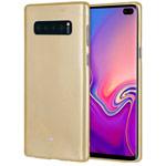 Чехол Mercury Goospery Jelly Case для Samsung Galaxy S10 plus (золотистый, гелевый)