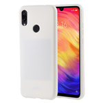 Чехол Mercury Goospery Jelly Case для Xiaomi Redmi 7 (белый, гелевый)