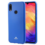Чехол Mercury Goospery Jelly Case для Xiaomi Redmi 7 (синий, гелевый)