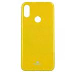 Чехол Mercury Goospery Jelly Case для Xiaomi Redmi Note 7 (желтый, гелевый)