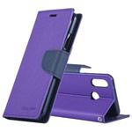 Чехол Mercury Goospery Fancy Diary Case для Xiaomi Redmi 7 (фиолетовый, винилискожа)