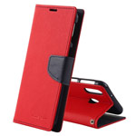 Чехол Mercury Goospery Fancy Diary Case для Samsung Galaxy A30 (красный, винилискожа)
