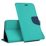 Чехол Mercury Goospery Fancy Diary Case для Samsung Galaxy A30 (бирюзовый, винилискожа)
