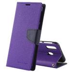 Чехол Mercury Goospery Fancy Diary Case для Samsung Galaxy A30 (фиолетовый, винилискожа)