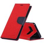 Чехол Mercury Goospery Fancy Diary Case для Samsung Galaxy S10 (красный, винилискожа)