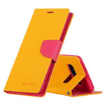Чехол Mercury Goospery Fancy Diary Case для Samsung Galaxy S10 (желтый, винилискожа)