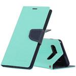 Чехол Mercury Goospery Fancy Diary Case для Samsung Galaxy S10 (бирюзовый, винилискожа)