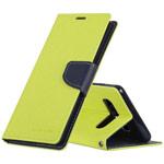 Чехол Mercury Goospery Fancy Diary Case для Samsung Galaxy S10 (зеленый, винилискожа)