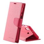 Чехол Mercury Goospery Fancy Diary Case для Samsung Galaxy A40 (розовый, винилискожа)