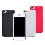 Чехол Nillkin Hard case для Apple iPhone 5C (темно-коричневый, пластиковый)