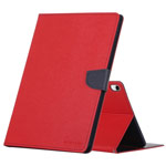 Чехол Mercury Goospery Fancy Diary Case для Apple iPad Pro 11 (красный, винилискожа)