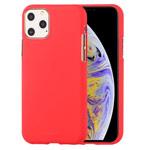 Чехол Mercury Goospery Soft Feeling для Apple iPhone 11 pro (красный, силиконовый)