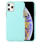 Чехол Mercury Goospery Soft Feeling для Apple iPhone 11 pro (бирюзовый, силиконовый)