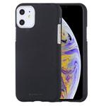 Чехол Mercury Goospery Soft Feeling для Apple iPhone 11 (черный, силиконовый)