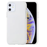 Чехол Mercury Goospery Soft Feeling для Apple iPhone 11 (белый, силиконовый)