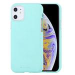 Чехол Mercury Goospery Soft Feeling для Apple iPhone 11 (бирюзовый, силиконовый)