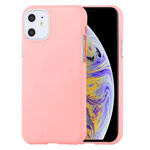 Чехол Mercury Goospery Soft Feeling для Apple iPhone 11 (розовый, силиконовый)