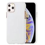 Чехол Mercury Goospery Soft Feeling для Apple iPhone 11 pro max (белый, силиконовый)
