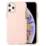 Чехол Mercury Goospery Soft Feeling для Apple iPhone 11 pro max (бежевый, силиконовый)