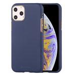 Чехол Mercury Goospery Soft Feeling для Apple iPhone 11 pro max (синий, силиконовый)