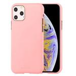 Чехол Mercury Goospery Soft Feeling для Apple iPhone 11 pro max (розовый, силиконовый)