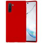 Чехол Mercury Goospery Soft Feeling для Samsung Galaxy Note 10 (красный, силиконовый)