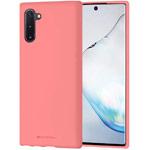 Чехол Mercury Goospery Soft Feeling для Samsung Galaxy Note 10 (розовый, силиконовый)