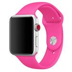 Ремешок для часов Synapse Sport Band для Apple Watch (38 мм, малиновый, силиконовый)