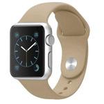 Ремешок для часов Synapse Sport Band для Apple Watch (42 мм, бежевый, силиконовый)