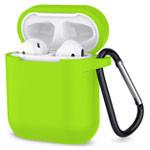Чехол Synapse Buckle Case для Apple AirPods (зеленый, силиконовый)