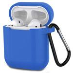 Чехол Synapse Buckle Case для Apple AirPods (синий, силиконовый)