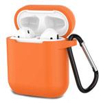 Чехол Synapse Buckle Case для Apple AirPods (оранжевый, силиконовый)