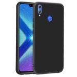 Чехол Yotrix LiquidSilicone для Huawei Y9 2019 (черный, гелевый)