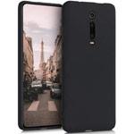 Чехол Yotrix LiquidSilicone для Xiaomi Mi 9T (черный, гелевый)