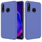 Чехол Yotrix LiquidSilicone для Huawei P30 lite (фиолетовый, гелевый)