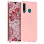 Чехол Yotrix LiquidSilicone для Huawei P30 lite (розовый, гелевый)