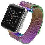 Ремешок для часов Yotrix Milanese Band для Apple Watch 38/40 мм (хамелеон, стальной)