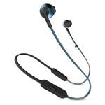 Беспроводные наушники JBL Tune T205BT (синие, пульт/микрофон)
