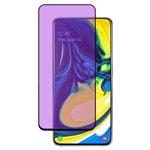 Защитное стекло Yotrix 3D Anti-Glare Glass Protector для Samsung Galaxy A80 (черное, антиблик)
