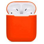 Чехол Synapse Protection Case для Apple AirPods (ярко-оранжевый, силиконовый)